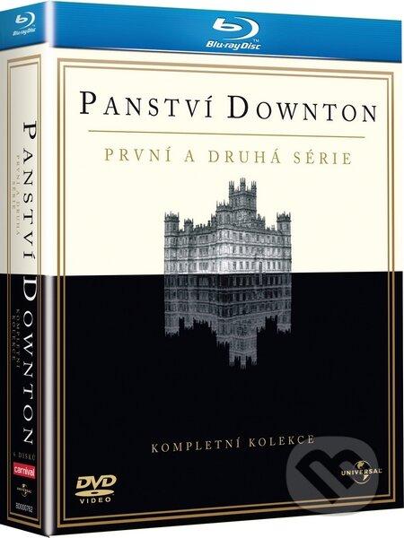 Kompletní kolekce: Panství Downton 1. a 2. série BLU-RAY
