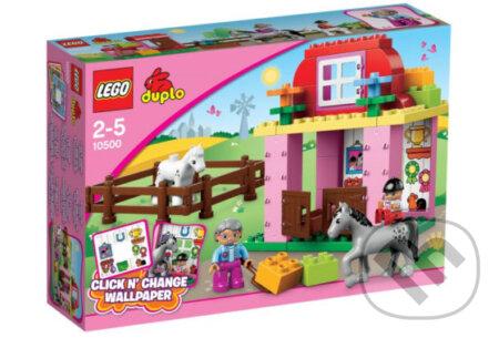 LEGO Duplo 10500 Lego Ville, Konské stajne -