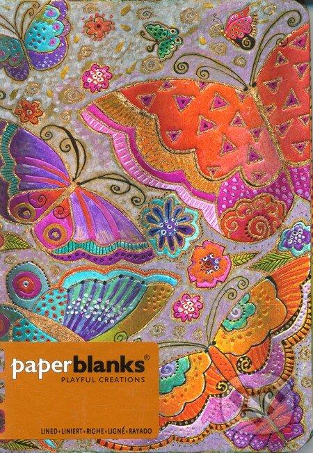 Paperblanks - Flutterbyes - MIDI linajkový -