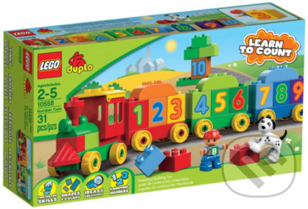 LEGO Duplo 10558 Vláčik plný čísel -