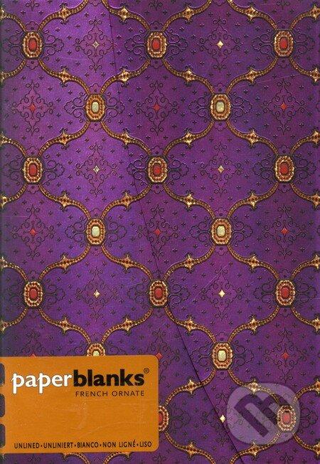 Paperblanks - Violet - MIDI - čistý -