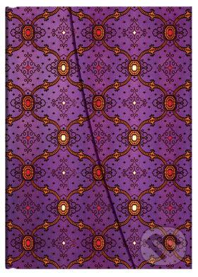 Paperblanks - Violet - MIDI - linajkový -