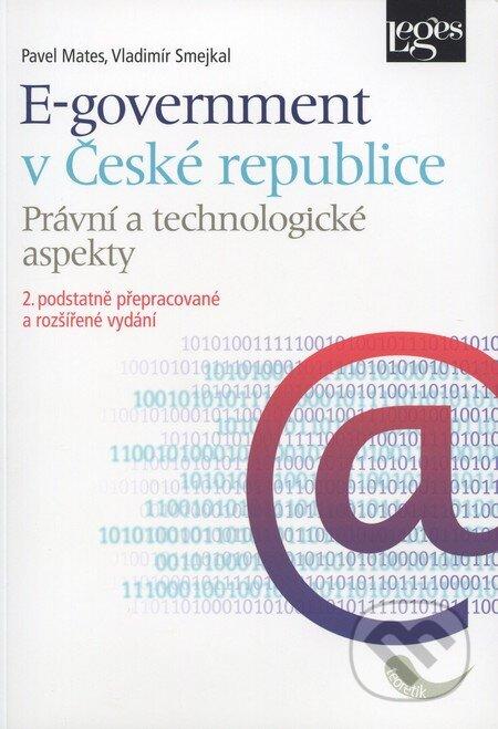 E-government v České republice - Pavel Mates, Vladimír Smejkal