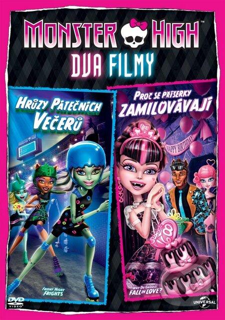 Monster High: Proč se příšerky zamilovávají & Hrůzy páteční noci DVD