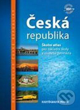 Česká republika - Školní atlas -