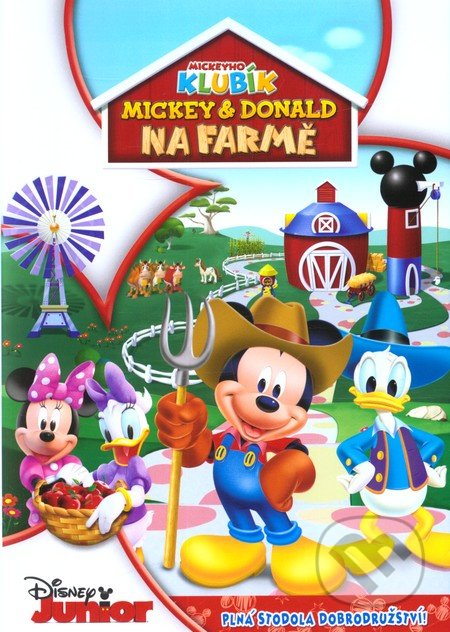 Disney Junior: Mickey a Donald na farmě DVD