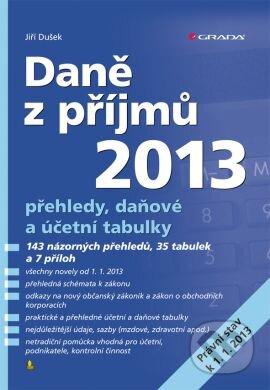 Daně z příjmů 2013 - Jiří Dušek