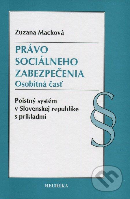 Heuréka Právo sociálneho zabezpečenia - Zuzana Macková
