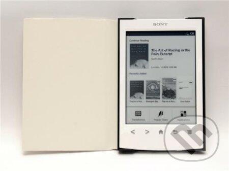 Puzdro Durable pre SONY PRS-T2 (biela farba) -