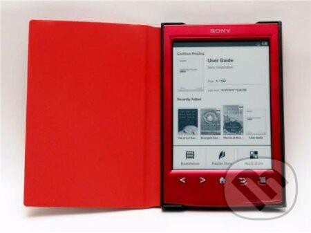 Puzdro Durable pre SONY PRS-T2 (červená farba) -