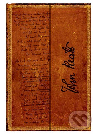 Paperblanks - Keats, To Autumn (Mini, linajkový) -