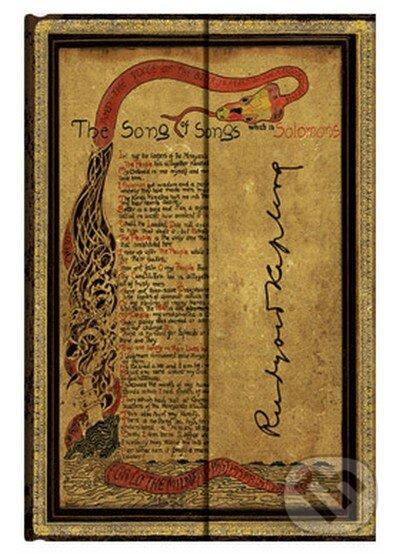 Paperblanks - Kipling, Song of Songs (Mini, linajkový) -
