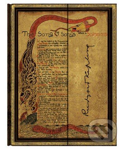 Paperblanks - Kipling, Song of Songs (Ultra, linajkový) -
