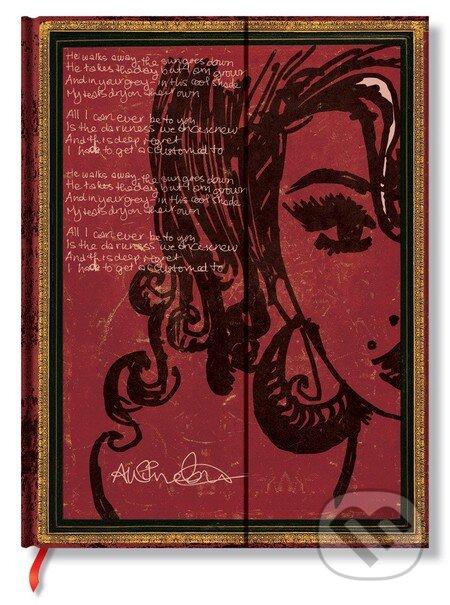 Paperblanks - Amy Winehouse, Tears Dry (Ultra, linajkový) -