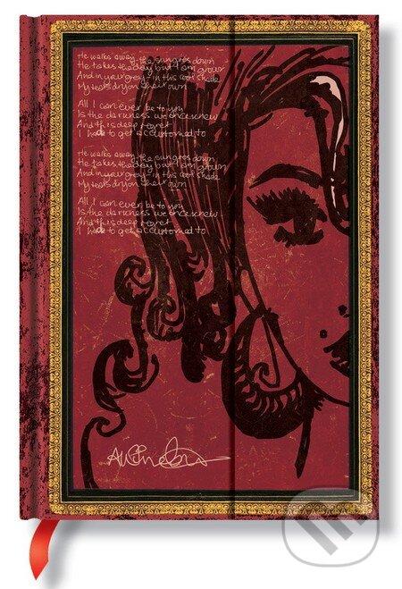 Paperblanks - Amy Winehouse, Tears Dry (Midi, linajkový) -