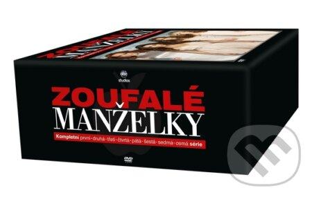 Zoufalé Manželky boxset 1. - 8. série DVD