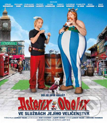 Asterix a Obelix ve službách Jejího Veličenstva BLU-RAY