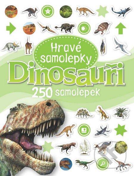 Hravé samolepky - Dinosauři -