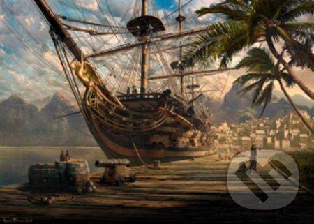 Kotviaca loď -