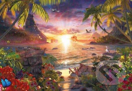 Rajský západ slnka -