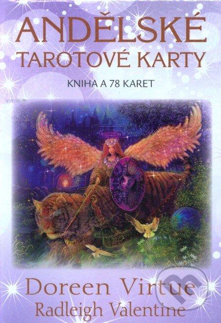 Andělské tarotové karty - Doreen Virtue, Radleigh Valentine