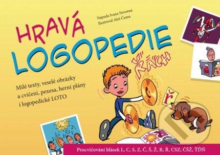 Hravá logopedie - Ivana Novotná, Aleš Čuma (ilustrácie)