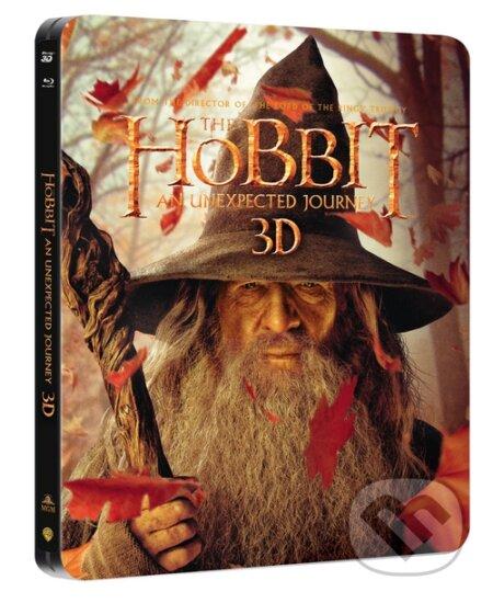 Hobit: Neočekávaná cesta Steelbook (3D+2D+bonus disk) BLU-RAY
