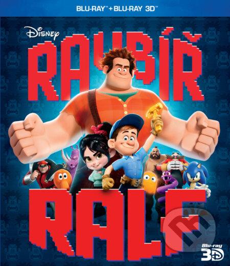 Ralph rozbi to 3D BLU-RAY
