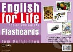 English for Life - Pre-intermediate - Flashcards - Tom Hutchinson