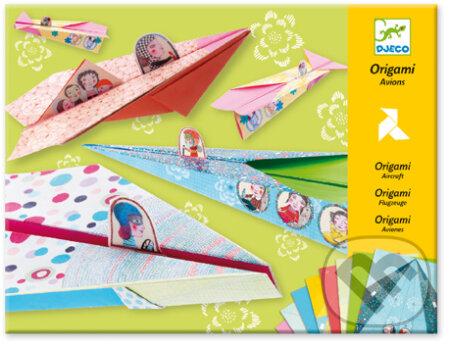 Origami lietadlá: Dievčenské -