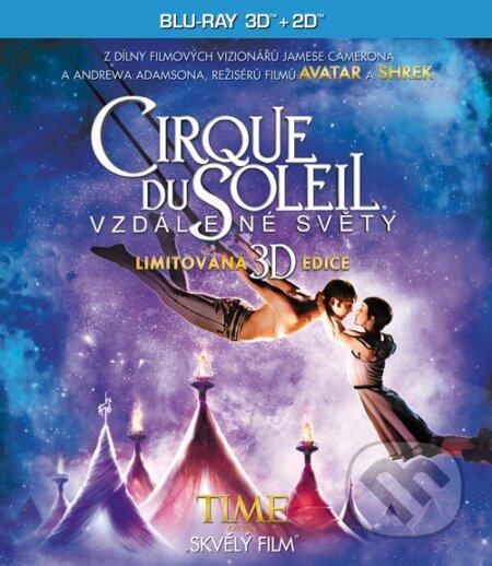 Cirque Du Soleil: Vzdálené světy 3D BLU-RAY