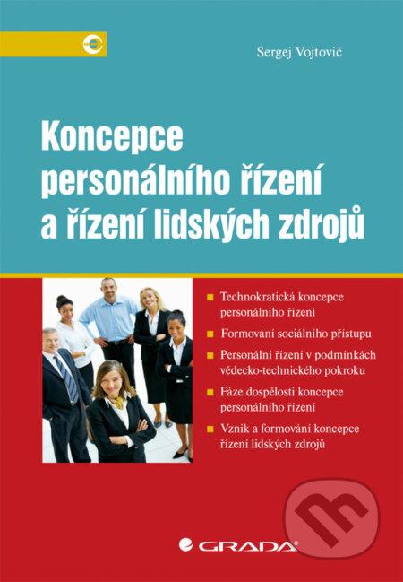 Koncepce personálního řízení a řízení lidských zdrojů - Sergej Vojtovič