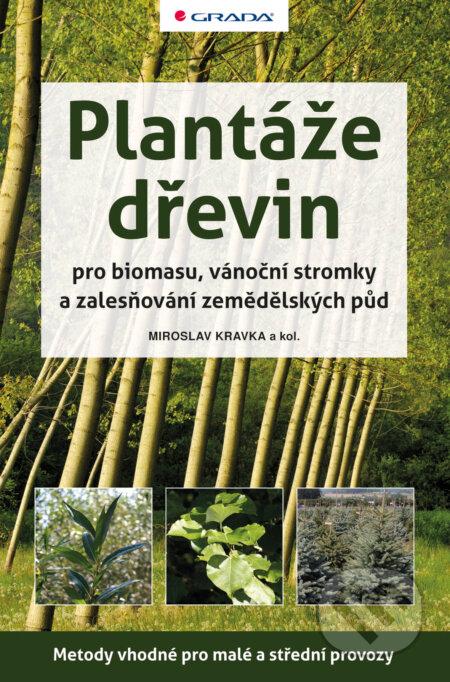 Plantáže dřevin pro biomasu, vánoční stromky a zalesňování zemědělských půd - Kravka Miroslav a kolektiv