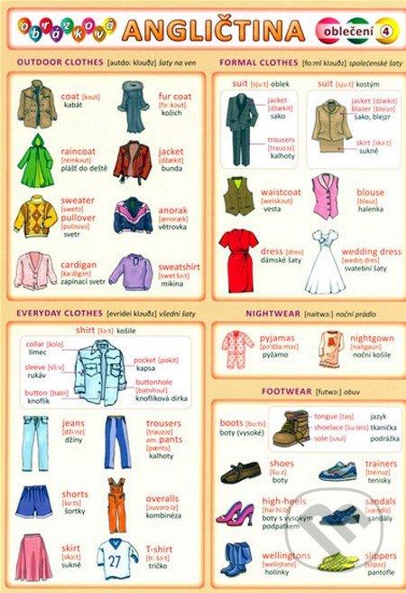 Obrázková angličtina 4 - Oblečení -