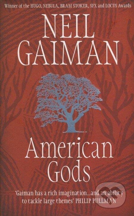 Headline Book American Gods - Neil Gaiman
