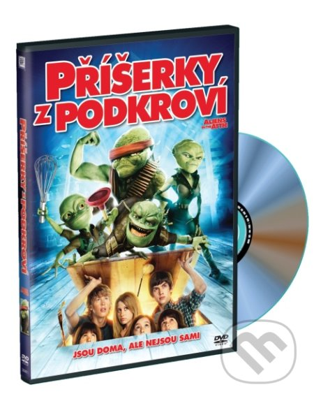 Příšerky z podkroví DVD