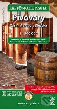 Pivovary Čech , Moravy a Slezska -
