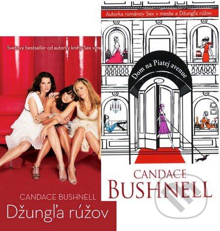 Kolekcia dvoch titulov autorky Candace Bushnell -