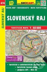 Slovenský raj 1:40 000 -