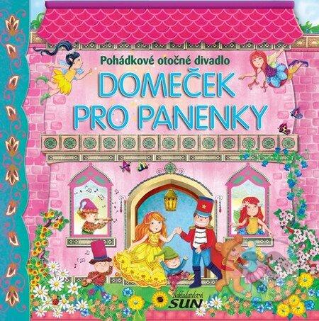 Domeček pro panenky - Pohádkové otočné divadlo -