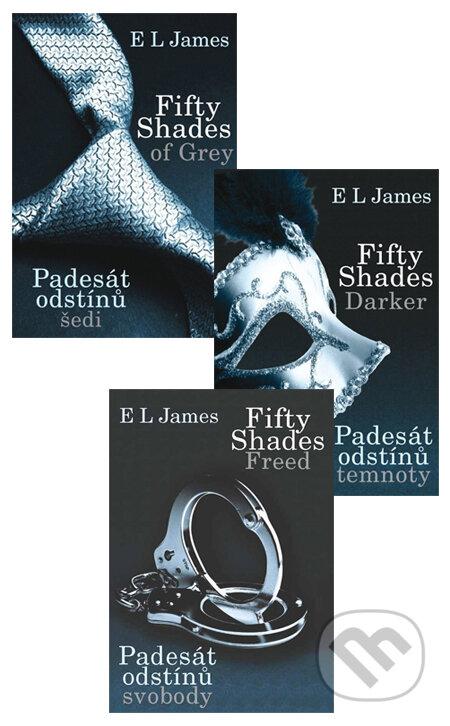 Fifty Shades v českém jazyce (komplet) - E L James