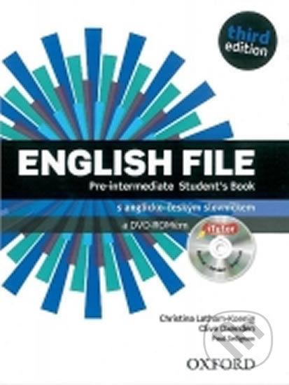 English File Pre-Intermediate Student´s Book + iTutor DVD-ROM Czech Edition - Christina Latham-Koenig, Clive Oxenden, Paul Seligson, Martyn Hobbs
