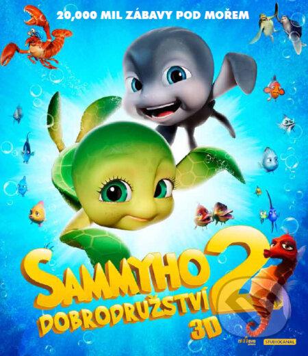 Sammyho dobrodružství 2 3D BLU-RAY