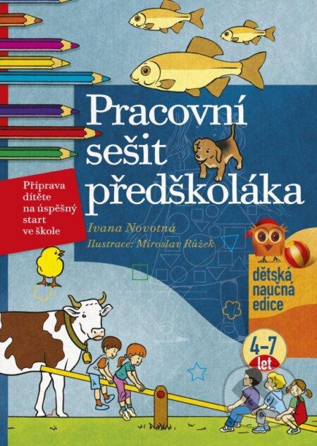 Pracovní sešit předškoláka - Ivana Novotná, Miroslav Růžek (ilustrácie)