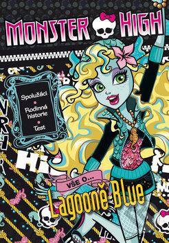 Monster High: Vše o Lagooně Blue - Mattel
