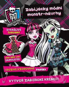 Monster High: Zabijácky módní monstr - návrhy - Mattel