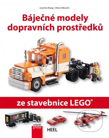 Báječné modely dopravních prostředků ze stavebnice LEGO - Oliver Albrecht, Joachim Klang