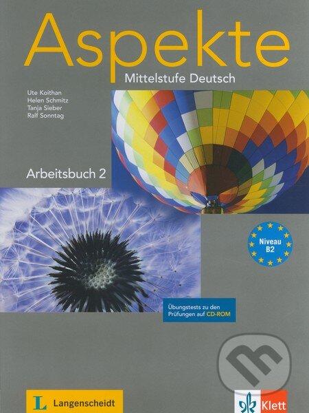 ASPEKTE 2 ARBEITSBUCH mit CD-ROM - Náhled učebnice
