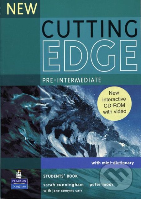 New Cutting Edge: Pre-intermediate - Students Book + CD - Sarah Cunningham