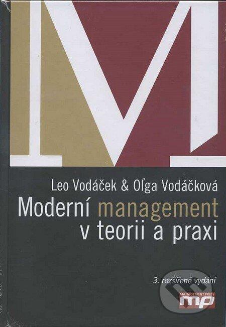 Moderní management v teorii a praxi - Leo Vodáček a Oľga Vodáčková